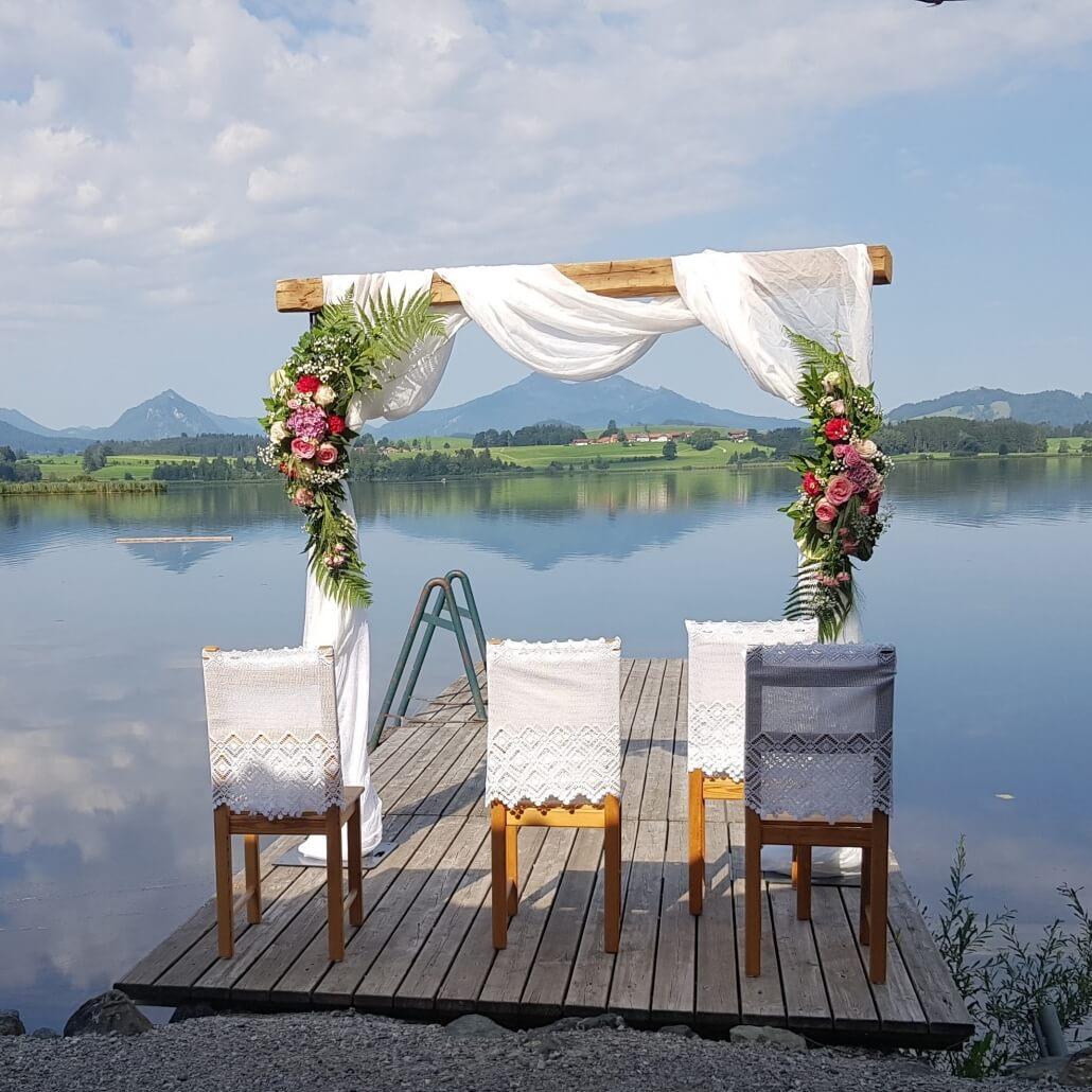 Traurednerin für Freie Trauungen im Allgäu